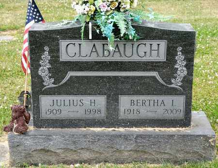 CLABAUGH, BERTHA I - Richland County, Ohio | BERTHA I CLABAUGH - Ohio Gravestone Photos