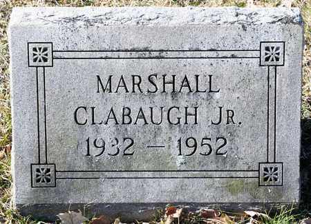CLABAUGH JR, MARSHALL - Richland County, Ohio | MARSHALL CLABAUGH JR - Ohio Gravestone Photos