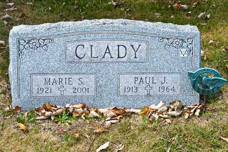 CLADY, PAUL J - Richland County, Ohio | PAUL J CLADY - Ohio Gravestone Photos