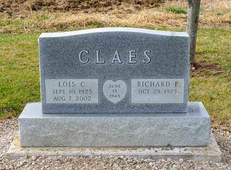 CLAES, LOIS C - Richland County, Ohio | LOIS C CLAES - Ohio Gravestone Photos
