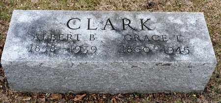 CLARK, ALBERT B - Richland County, Ohio | ALBERT B CLARK - Ohio Gravestone Photos