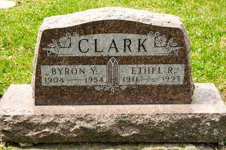 CLARK, BYRON Y - Richland County, Ohio | BYRON Y CLARK - Ohio Gravestone Photos