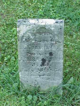 CLARK, BENJAMIN - Richland County, Ohio | BENJAMIN CLARK - Ohio Gravestone Photos