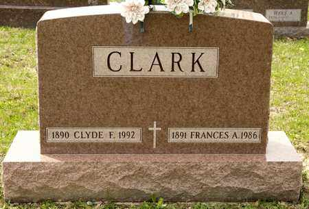 CLARK, FRANCES A - Richland County, Ohio | FRANCES A CLARK - Ohio Gravestone Photos