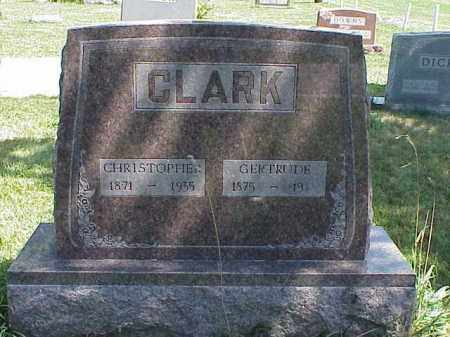 CLARK, CHRISTOPHER - Richland County, Ohio | CHRISTOPHER CLARK - Ohio Gravestone Photos