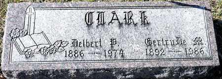 CLARK, DELBERT P - Richland County, Ohio | DELBERT P CLARK - Ohio Gravestone Photos