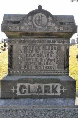 CLARK, MARY E - Richland County, Ohio | MARY E CLARK - Ohio Gravestone Photos