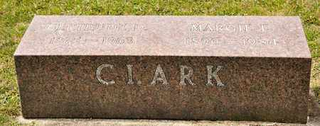 CLARK, MARGIE E - Richland County, Ohio | MARGIE E CLARK - Ohio Gravestone Photos