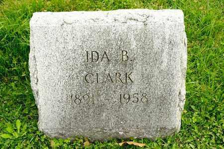 CLARK, IDA B - Richland County, Ohio | IDA B CLARK - Ohio Gravestone Photos