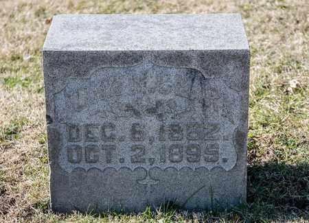 CLARK, JOHN M - Richland County, Ohio | JOHN M CLARK - Ohio Gravestone Photos
