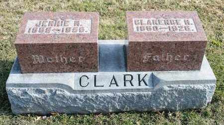 CLARK, JENNIE N - Richland County, Ohio | JENNIE N CLARK - Ohio Gravestone Photos