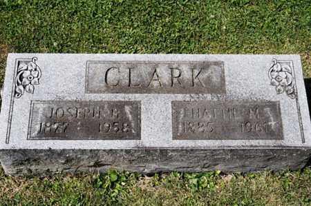CLARK, JOSEPH H - Richland County, Ohio | JOSEPH H CLARK - Ohio Gravestone Photos