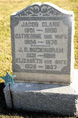 CLARK, JACOB - Richland County, Ohio | JACOB CLARK - Ohio Gravestone Photos