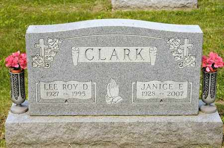 CLARK, LEE ROY D - Richland County, Ohio | LEE ROY D CLARK - Ohio Gravestone Photos