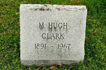CLARK, M HUGH - Richland County, Ohio | M HUGH CLARK - Ohio Gravestone Photos