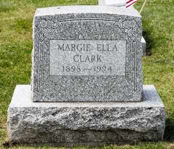 CLARK, MARGIE ELLA - Richland County, Ohio | MARGIE ELLA CLARK - Ohio Gravestone Photos