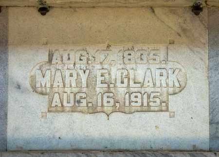 CLARK, MARY E - Richland County, Ohio | MARY E CLARK - Ohio Gravestone Photos