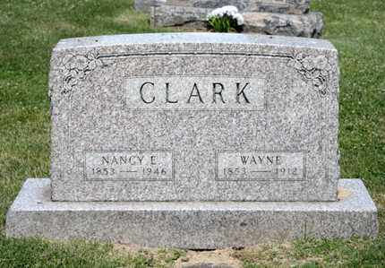 CLARK, NANCY E - Richland County, Ohio | NANCY E CLARK - Ohio Gravestone Photos
