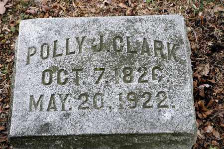 CLARK, POLLY J - Richland County, Ohio | POLLY J CLARK - Ohio Gravestone Photos