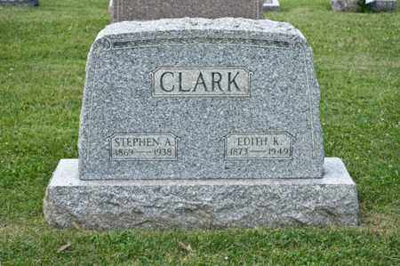 CLARK, EDITH K - Richland County, Ohio | EDITH K CLARK - Ohio Gravestone Photos
