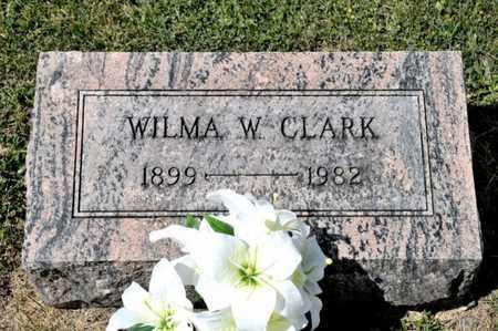 CLARK, WILMA W - Richland County, Ohio | WILMA W CLARK - Ohio Gravestone Photos