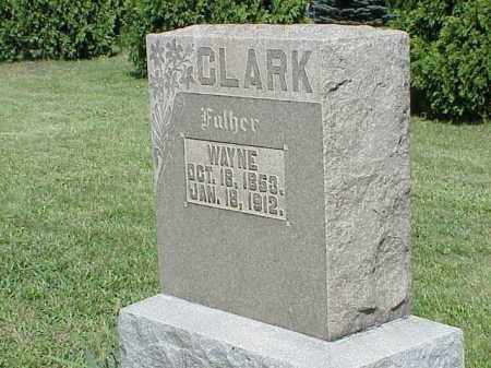 CLARK, WAYNE - Richland County, Ohio | WAYNE CLARK - Ohio Gravestone Photos