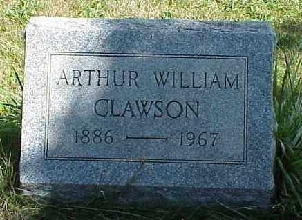 CLAWSON, ARTHUR WILLIAM - Richland County, Ohio | ARTHUR WILLIAM CLAWSON - Ohio Gravestone Photos