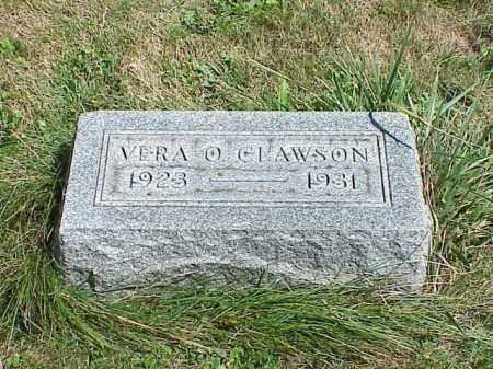 CLAWSON, VERA O. - Richland County, Ohio | VERA O. CLAWSON - Ohio Gravestone Photos