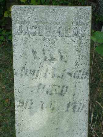 CLAY, JACOB - Richland County, Ohio | JACOB CLAY - Ohio Gravestone Photos