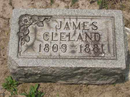 CLELAND, JAMES - Richland County, Ohio | JAMES CLELAND - Ohio Gravestone Photos