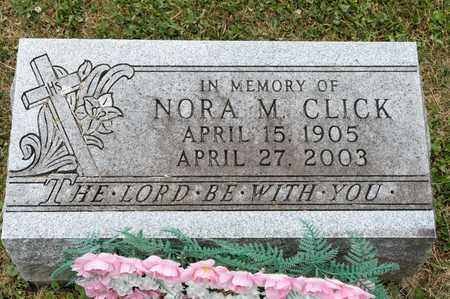 CLICK, NORA M - Richland County, Ohio | NORA M CLICK - Ohio Gravestone Photos