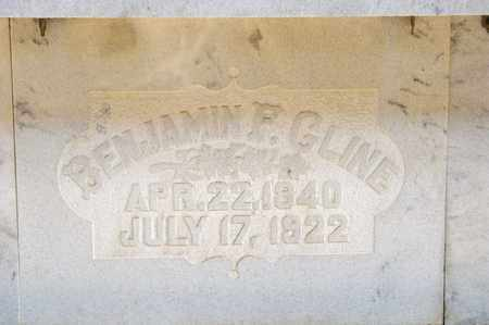 CLINE, BENJAMIN F - Richland County, Ohio | BENJAMIN F CLINE - Ohio Gravestone Photos