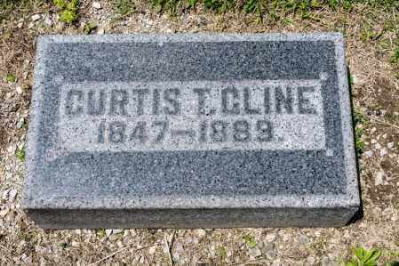 CLINE, CURTIS T - Richland County, Ohio | CURTIS T CLINE - Ohio Gravestone Photos