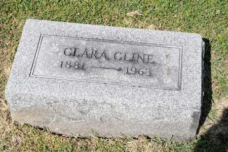 CLINE, CLARA - Richland County, Ohio | CLARA CLINE - Ohio Gravestone Photos