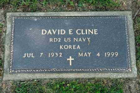 CLINE, DAVID E - Richland County, Ohio | DAVID E CLINE - Ohio Gravestone Photos