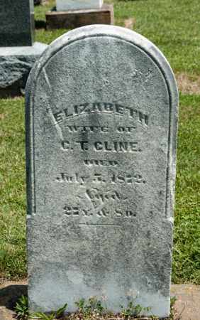 CLINE, ELIZABETH - Richland County, Ohio | ELIZABETH CLINE - Ohio Gravestone Photos
