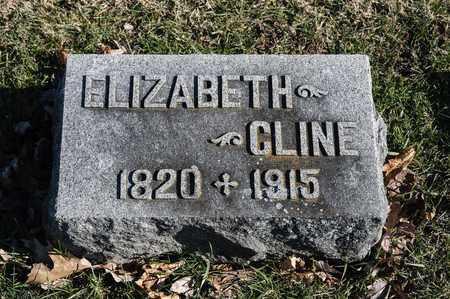 CLINE, ELIZABETH - Richland County, Ohio | ELIZABETH CLINE - Ohio Gravestone Photos