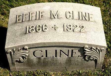 CLINE, EFFIE M - Richland County, Ohio | EFFIE M CLINE - Ohio Gravestone Photos