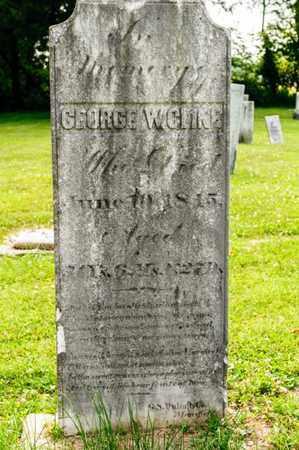 CLINE, GEORGE W - Richland County, Ohio | GEORGE W CLINE - Ohio Gravestone Photos