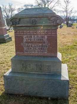 CLINE, ELLEN J - Richland County, Ohio | ELLEN J CLINE - Ohio Gravestone Photos