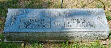 CLINE, MARY E - Richland County, Ohio | MARY E CLINE - Ohio Gravestone Photos