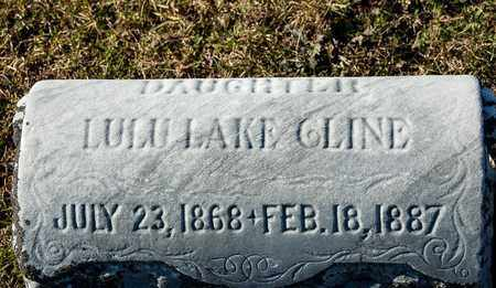 CLINE, LULU LAKE - Richland County, Ohio | LULU LAKE CLINE - Ohio Gravestone Photos