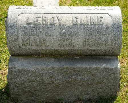 CLINE, LEROY - Richland County, Ohio | LEROY CLINE - Ohio Gravestone Photos