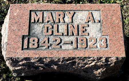 CLINE, MARY A - Richland County, Ohio | MARY A CLINE - Ohio Gravestone Photos