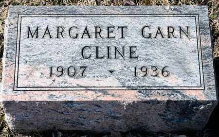 GARN CLINE, MARGARET - Richland County, Ohio | MARGARET GARN CLINE - Ohio Gravestone Photos