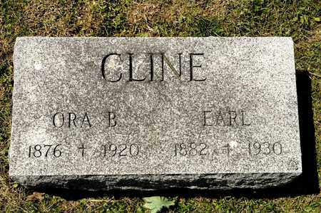 CLINE, EARL - Richland County, Ohio | EARL CLINE - Ohio Gravestone Photos