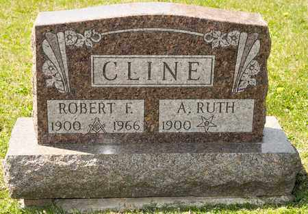 CLINE, ROBERT F - Richland County, Ohio | ROBERT F CLINE - Ohio Gravestone Photos