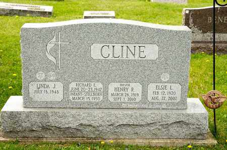 CLINE, ELSIE L - Richland County, Ohio | ELSIE L CLINE - Ohio Gravestone Photos