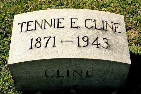 CLINE, TENNIE E - Richland County, Ohio | TENNIE E CLINE - Ohio Gravestone Photos