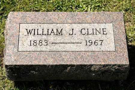 CLINE, WILLIAM J - Richland County, Ohio | WILLIAM J CLINE - Ohio Gravestone Photos